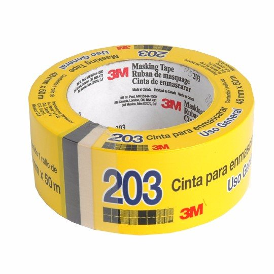 3M 203 Masking tape Uso general 48 mm x 50 m