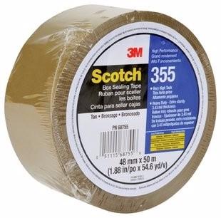 3M 355 Cinta de empaque de alto desempeño Scotch 48 mm x 50 m