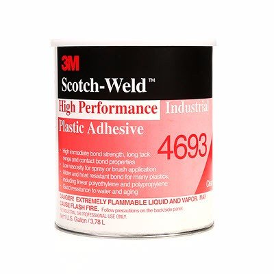 3M 4693 Adhesivo Scotch-Grip Bote Con 3.75 L