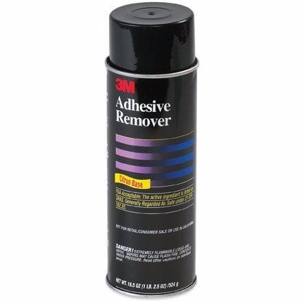 3M Adhesive Remover 6041 Pale Yellow, Net Wt 18.5 Oz