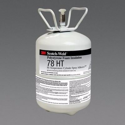 3M Foam Insulation 78 Ht Cylinder Spray Adhesive 28.5 Lbs