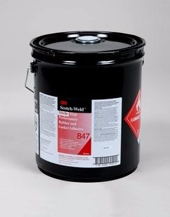 3M 847 Nitrile Hi Perf Rubber & Gasket Adh 54 Gal C/H Drum