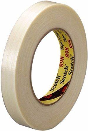 3M 898 Cinta de filamento Alto desempeño 12 x 55 m