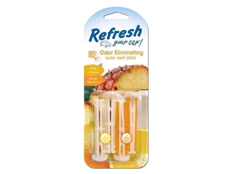 9581 Refresh Your Car® Vent Sticks Piña Colada/Mango mandarina