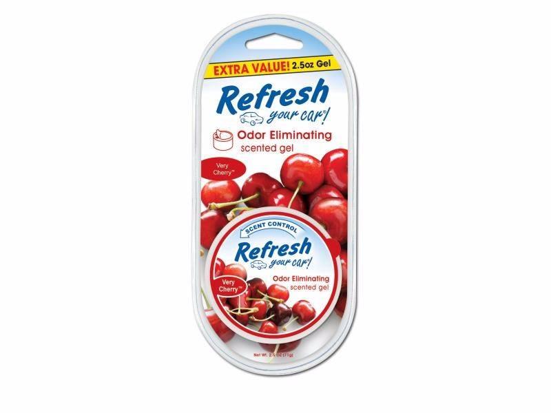 9983 Refresh Your Car® 2.5oz. Gel Aromatizante Cereza