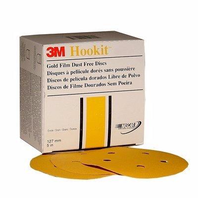 3M 1081 Disco Hookit Gold , P120 (Subempaque c/100)