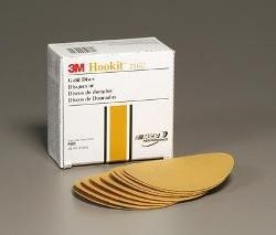"3M 969 Disco Hookit Gold Film 6"", P1000 (Subempaque c/100)"