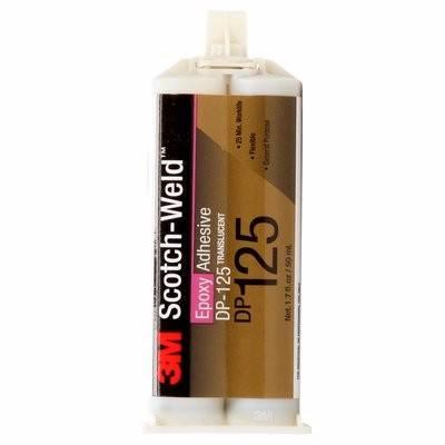 3M Dp125 Gray Epoxy Adhesive 1.7 Fl.0Z.