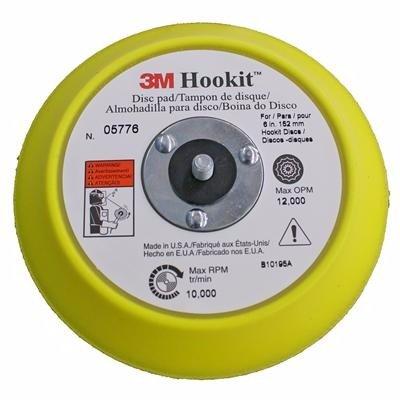 "3M 5776 Respaldo Disco Hookit 6"""