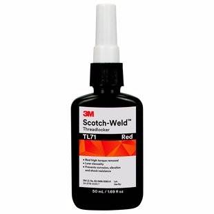 3M TL71 Threadlocker 50Ml