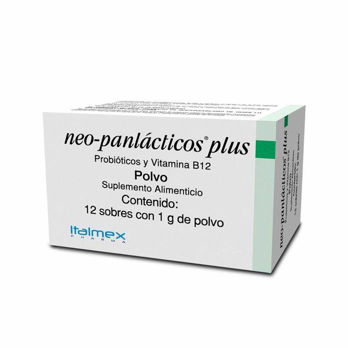 NEO-PANLACTICOS PLUS 1G PVO 12 SOBRES
