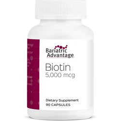 Bariatric Advantage Biotin 5000mcg Cápsulas C/90