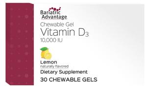 Bariatric Advantage Vitamina Gel D3 10000U