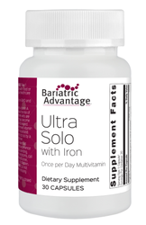 BARIATRIC ADVANTAGE ULTRA SOLO WITH IRON C/ 30