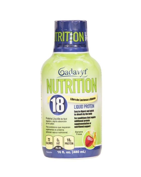 Gadavyt Protein Nutrition 18 16 oz (480 ml)