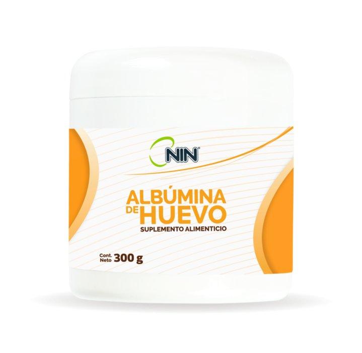 ALBUMINA DE HUEVO NIN 300GR
