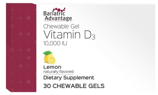 Bariatric Advantage Vitamina Gel D3 10000U