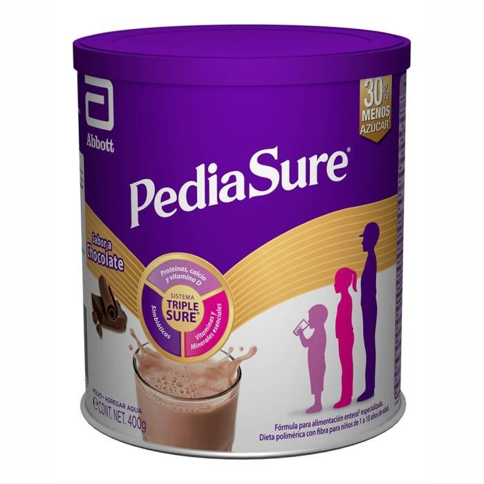 PEDIASURE CHOCOLATE POLVO 400 G