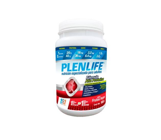 PLENLIFE Frutos Rojos 908gr Alta en Proteína