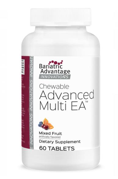 Bariatric Advantage Chewable Advanced Multi EA Mix Fruit C/60