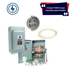 Kit Acometida 110 Volts