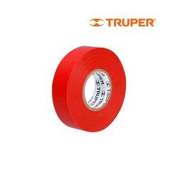 Cinta Aislar Truper Rojo 18 mm
