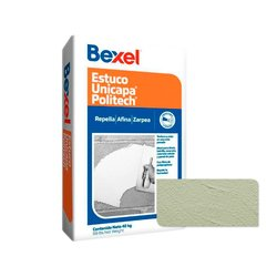 Estuco Bexel Unicapa Politech Verde Pistache 40 kg