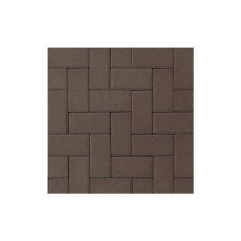 Adoquín Holland Mextile 10 x 20 x 6 cm Tabaco