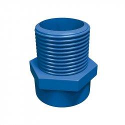 Conector CPVC Azul Rosca Exterior 25 mm Flowguard Gold