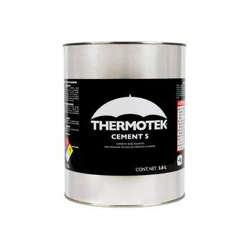 Cemento Plástico Negro Asfáltico Thermotek 4 Lt