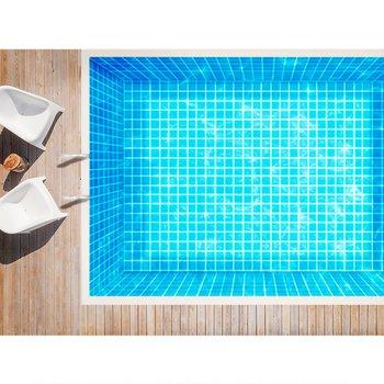 Mosaico para alberca Foncer 32.7x32.7 cm Cancún