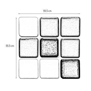 Mosaico para alberca Foncer 33.5x33.5 cm Mix Marbella