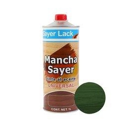 Tinta Aceite Mancha Sayer Lack Verde Ficus 1 Lt
