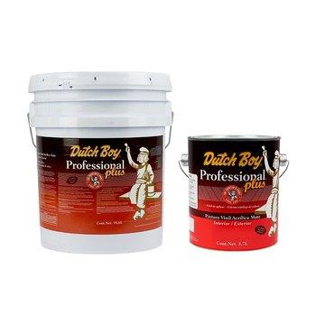 Paquete 1 Pintura Professional Plus Blanco 18.6 Lt + 1 Galón