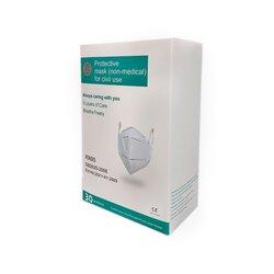 Mascarilla KN95 95% Eficiencia Caja 30 Piezas