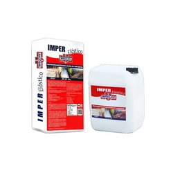 Impermeabilizante Cementoso Imper Elástico Blanco 30 kg AB