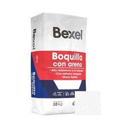 Boquilla con Arena Bexel Blanco 10 kg