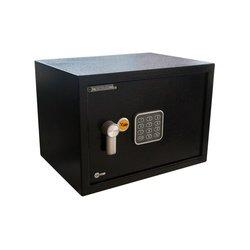 Caja de Seguridad Yale Mediana 25 x 35 x 25 cm Negro