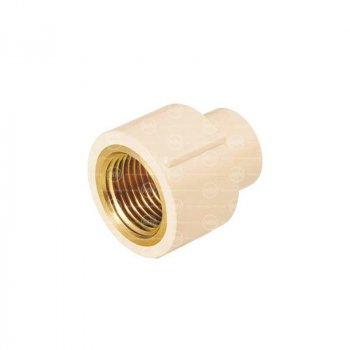 Conector CPVC Rosca Interior Bronce 13 mm