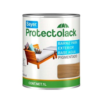Barniz Base de Agua Protectolack Sedona 1L Sayer