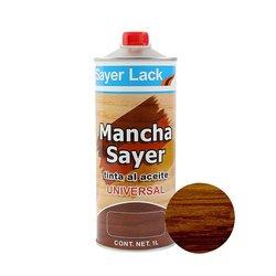 Tinta al Aceite Mancha Sayer Nogal Clasico 1 Lt