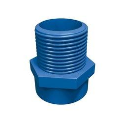 Conector CPVC Azul Rosca Exterior 13 mm Flowguard Gold