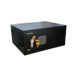 Caja de Seguridad Yale Mediana 20 x 35 cm Negra