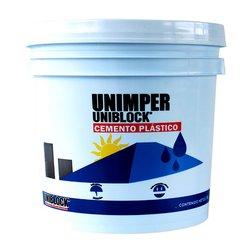 Cemento Acrílico Unimper Uniblock Blanco 3.8 L