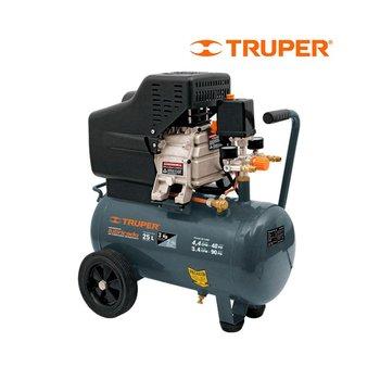 Compresor Horizontal Truper 25 l 3 Hp