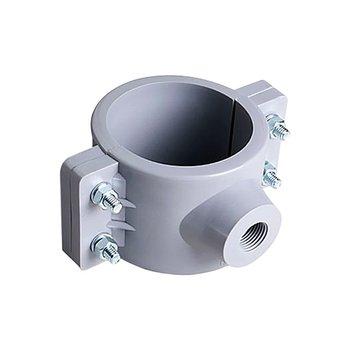 Abrazadera PVC Hidráulica 6 x ¾ pulg