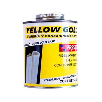Pegamento CPVC Presto ½ 473 ml Yellow Gold