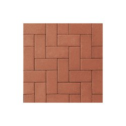 Adoquín Holland Mextile 10 x 20 x 6 cm Terracota