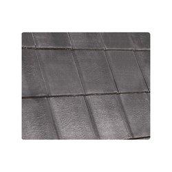 Teja Concreto Windsor Pizarra 44 x 33 cm Negro Carbón