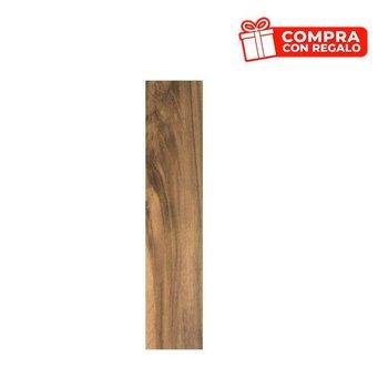 Piso Foresta Daltile 20 x 90 cm Castaño GFO1